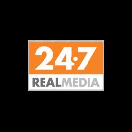24/7 Real Media logo